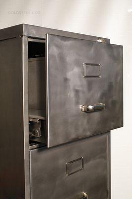 aktenschrank aus metall. Black Bedroom Furniture Sets. Home Design Ideas