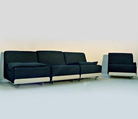 vintage sofa units by luigi colani for cor, 1969, set of 4 for, Hause deko