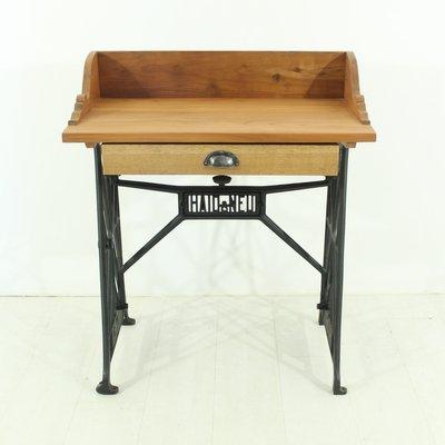 Vintage Cherrywood Sewing Table, 1930s 2