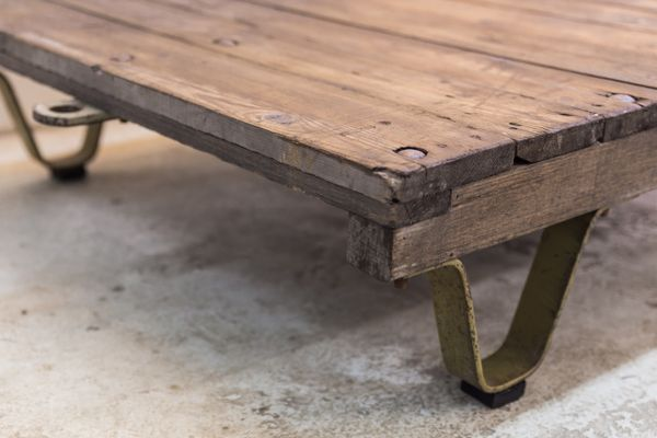 small pallet table for sale at pamono