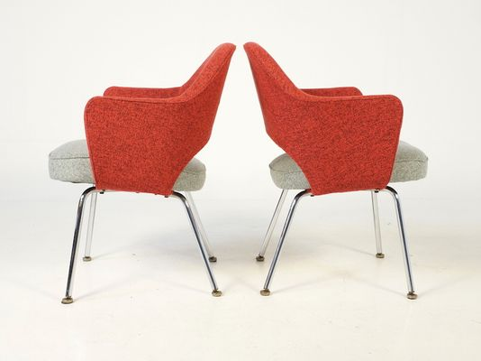 executive chairs by eero saarinen for knoll set of 2 pamono
