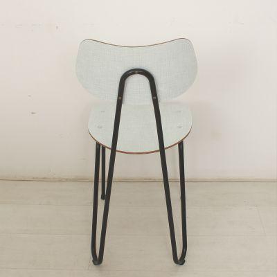 mid century tisch und st hle 1960er 3er set. Black Bedroom Furniture Sets. Home Design Ideas
