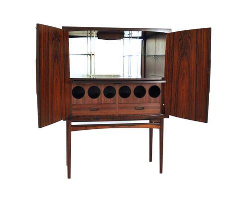 vintage barschrank 1960. Black Bedroom Furniture Sets. Home Design Ideas