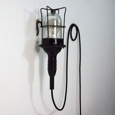 vintage industrie wandlampe deutschland 1960er. Black Bedroom Furniture Sets. Home Design Ideas