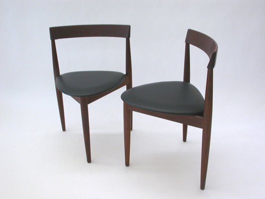Compact Dining Chairs By Hans Olsen For Frem Rojle, Set Of 4 3