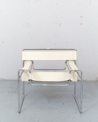 Vintage Bauhaus B3 Wassily Chair by Marcel Breuer for Gavina 3