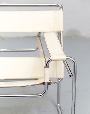 Vintage Bauhaus B3 Wassily Chair by Marcel Breuer for Gavina 11