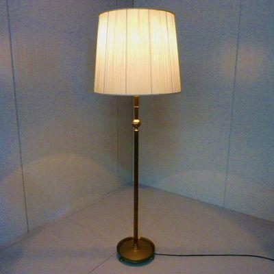 vintage stehlampe aus messing. Black Bedroom Furniture Sets. Home Design Ideas