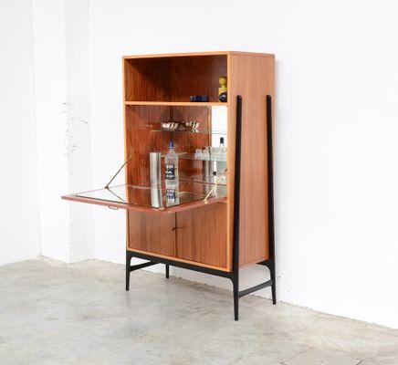 vintage barschrank von alfred hendrickx f r belform. Black Bedroom Furniture Sets. Home Design Ideas