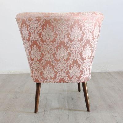 vintage cocktail sessel in rosa 1950er. Black Bedroom Furniture Sets. Home Design Ideas
