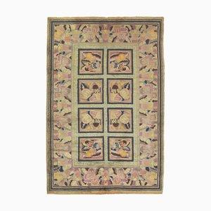 Geblümter Art Deco Teppich