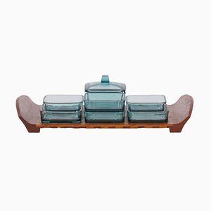 Teak Holzgitter Tablett von Jens Quistgaard für Dansk Design, 1960er
