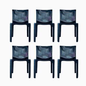 Cab Stühle von Mario Bellini für Cassina, 1970er, 6er Set