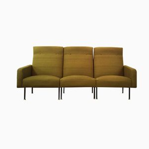 French Green Modular Sofa from Steiner