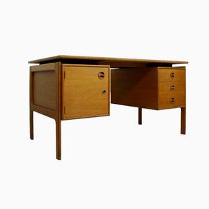 Danish Oakwood Desk from G.V. Gasvig, 1960s