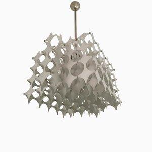 Italienische Plastische Cynthia Hängelampe von Mario Marenco für Artemide, 1968