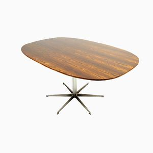 Superellipse Esstisch aus Palisander von Piet Hein & Arne Jacobsen