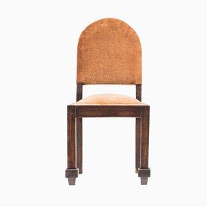 Art Deco Stuhl von De Coene