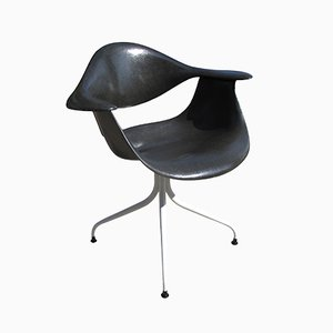 Black DAF Chair by Charles Pollock for Herman Miller