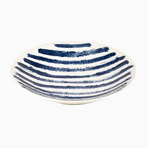 Indigo Rain Serving Bowl by Faye Toogood for 1882 Ltd