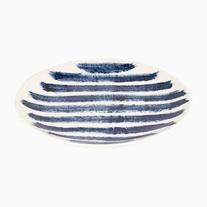 Indigo Rain Salad Plate by Faye Toogood for 1882 Ltd