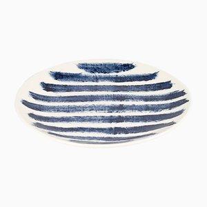 Indigo Rain Salatteller von Faye Toogood für 1882 Ltd