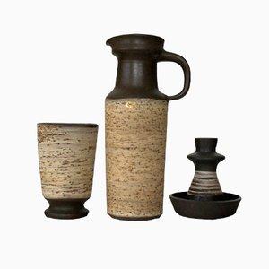 Ceramics by Jaap Ravelli, 1960s, Set of 3