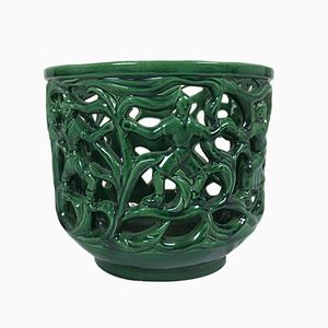Vintage Italian Ceramic Cachepot