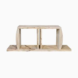 Marble Console Table by Ettore Sottsass, 1984