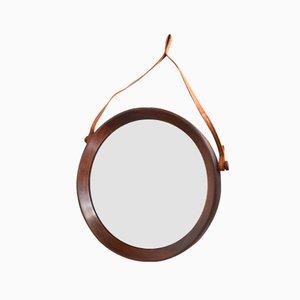 Teak Mirror by Uno & Östen Kristiansson for Luxus Vittsjö, 1960s