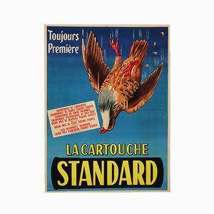 Affiche de Publicité 'La Cartouche Standard', France, 1930
