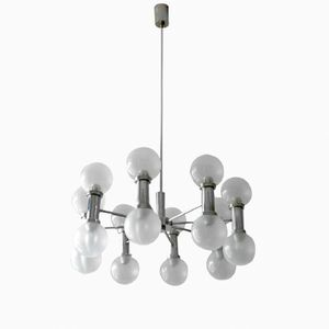 Eight-Armed Chandelier from Kaiser Leuchten, 1960s