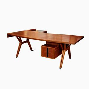 Terni Walnut Desk by Ico Parisi for MIM, 1952