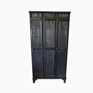 French Industrial Vintage Locker from Strafor, 1930s