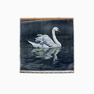 Vintage Wall Chart Swan, 1916