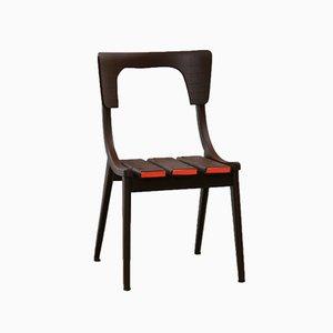 Orange Lipstick Stuhl von Markus Friedrich Staab