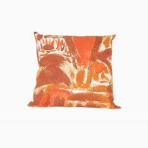 Rostbraunes Sitzkissen von Naomi Clark für Fort Makers