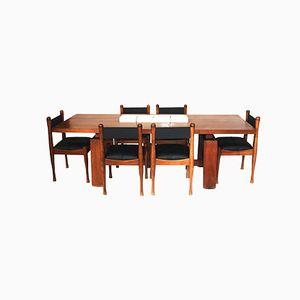 Italian Dining Room Set by Silvio Coppola for Bernini, 1960s