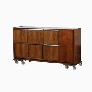 Vintage Rosewood Cabinet for Audio Equipment