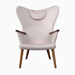 Danish AP 28 Easy Chair by Hans J. Wegner for AP Stolen, 1950s