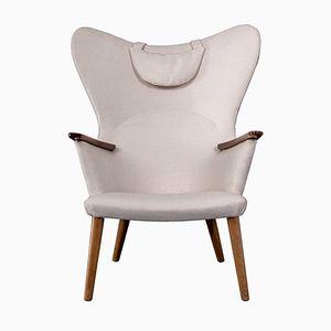 Danish AP 28 Easy Chair by Hans J. Wegner for AP Stolen, 1950s