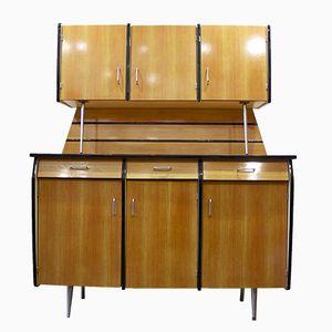 French Vintage Formica Kitchen Dresser, 1950s
