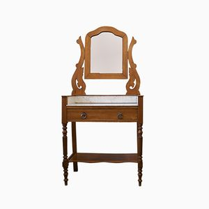 Vintage French Art Deco Dressing Table