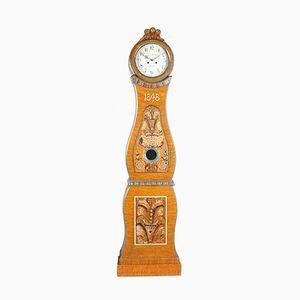 Schwedische Antike Mora Uhr, 1848