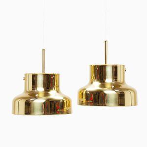 Schwedische Messing Bumling Lampen von Anders Pehrson für Ateljé Lyktan, 1960er, 2er Set