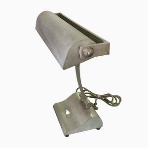Industrielle Verstellbare Vintage Tischlampe aus Messing