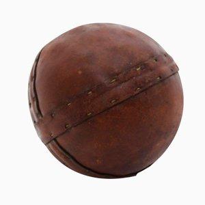Art Deco Leather Ball, 1920s