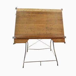 Britischer Vintage Architekten Schreibtisch