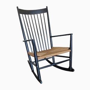 Rocking Chair J16 par Hans Wegner pour FDB Møbler, 1967
