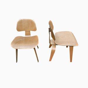 DCW Stühle von Charles & Ray Eames für Herman Miller, 1940er, 2er Set